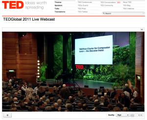 TEDGlobal 2011 Stream Test 2